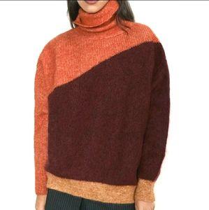 New ZARA Mohair Blend Sweater